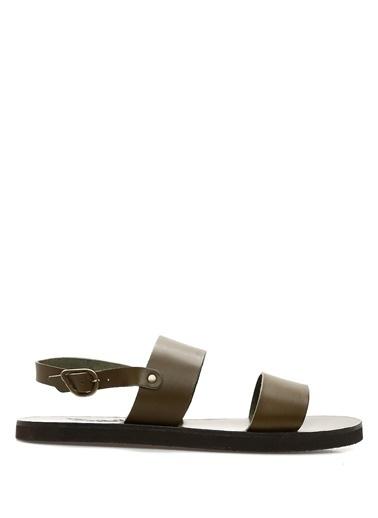 Ancient Greek Sandals Sandalet Haki